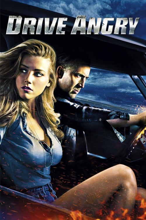 The poster of Drive Angry