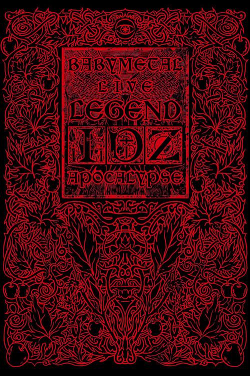Babymetal Live Legend D Apocalypse