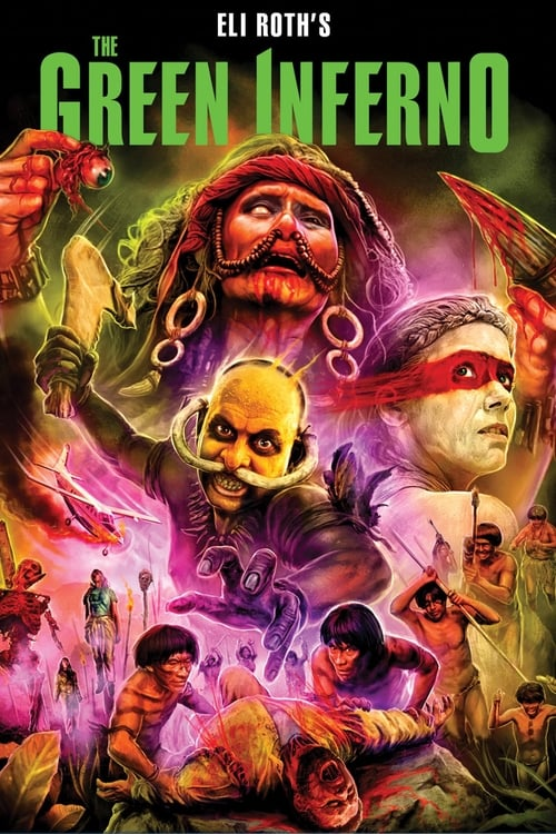 Streaming The Green Inferno (2014) Movie Free Online