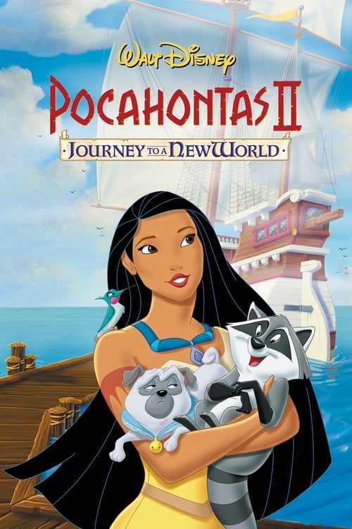 Pocahontas II: Journey to a New World - Poster