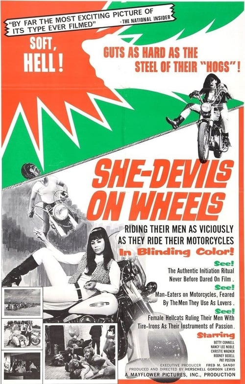 Largescale poster for She-Devils on Wheels