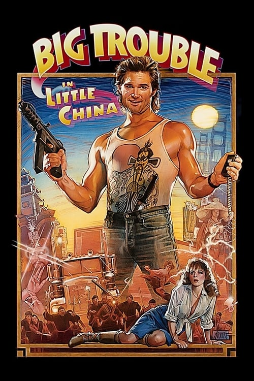 Largescale poster for Big Trouble in Little China
