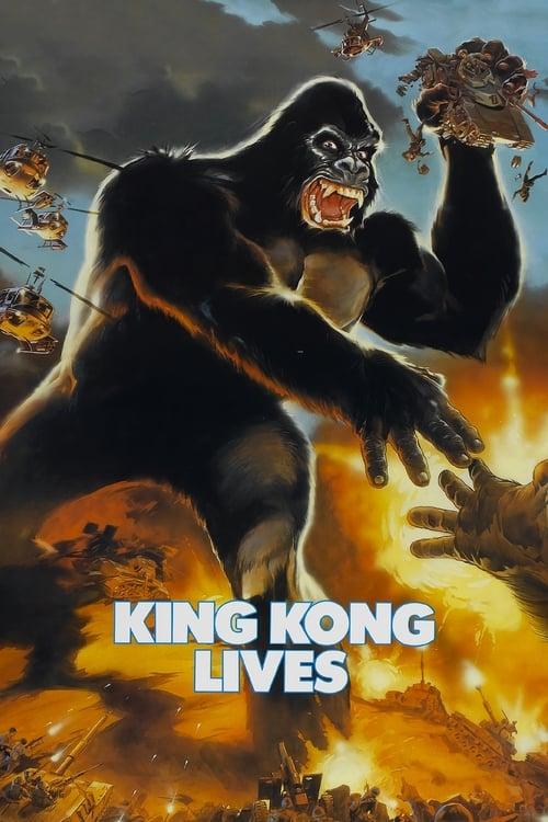 King Kong Lives (1986) Poster