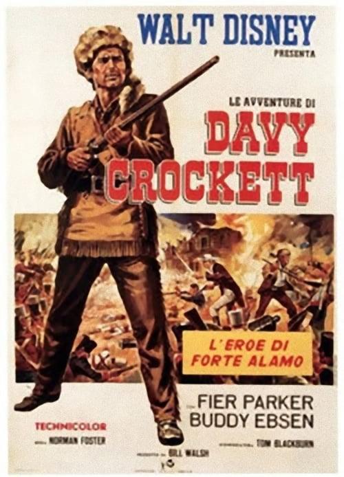 Le avventure di Davy Crockett (1955)