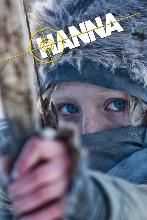 Poster for the movie, 'Hanna'