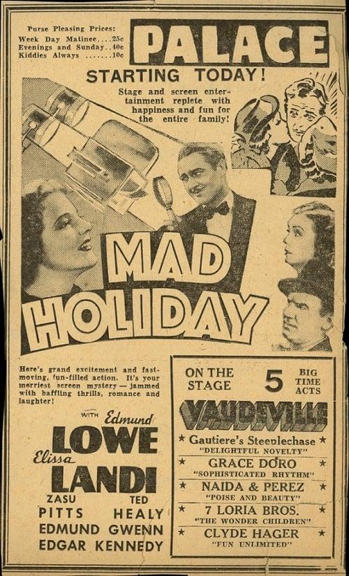 Assistir Filme Mad Holiday Em Boa Qualidade Hd 1080p