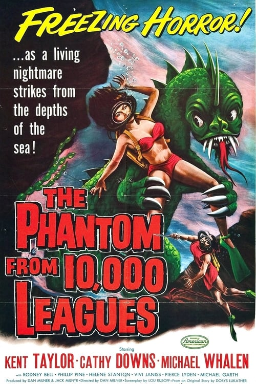 Mira La Película The Phantom from 10,000 Leagues Doblada Por Completo