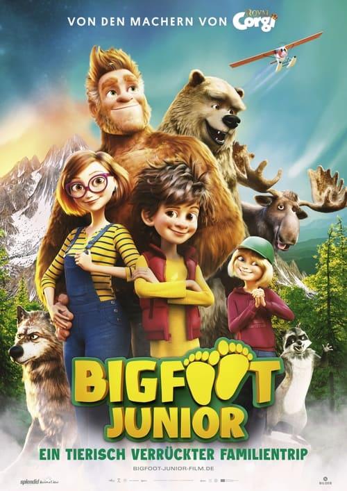 Bigfoot Junior - Ein tierisch verrückter Familientrip - Animation / 2021 / ab 6 Jahre