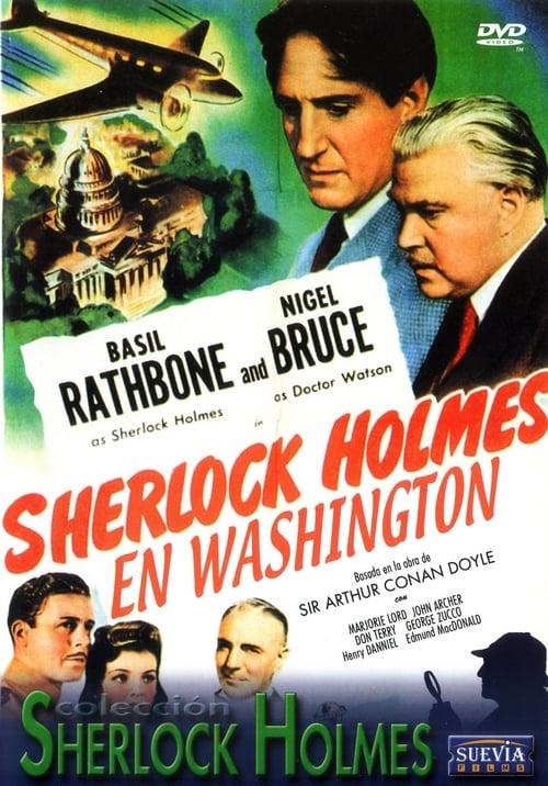 Mira La Película Sherlock Holmes en Washington En Español