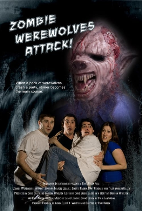 Zombie Werewolves Attack! poster