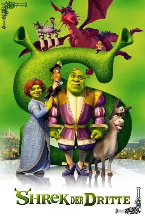 Shrek der Dritte - Fantasy / 2007 / ab 0 Jahre
