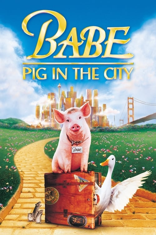 Babe: Pig in the City - Poster