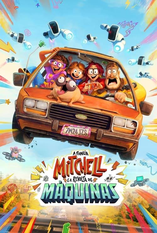 Assistir A Família Mitchell e a Revolta das Máquinas - HD 720p Dublado Online Grátis HD