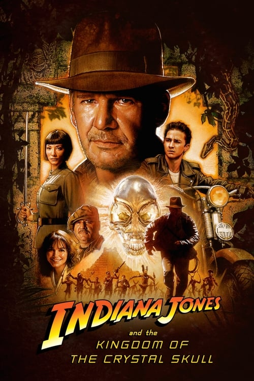 Largescale poster for Indiana Jones and the Kingdom of the Crystal Skull