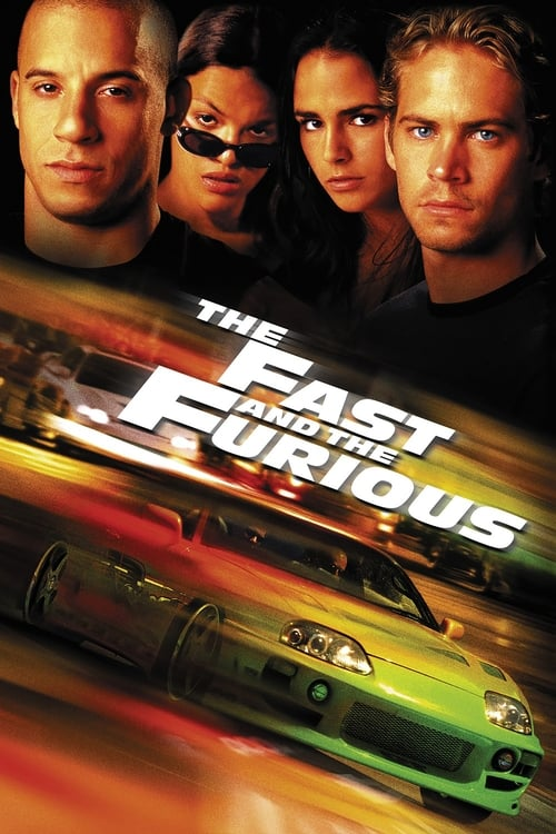 The Fast and the Furious - Poster