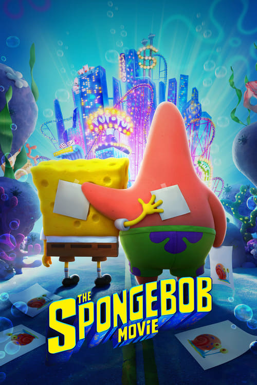 Largescale poster for The SpongeBob Movie: Sponge on the Run