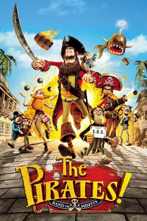 Watch The Pirates! In an Adventure with Scientists! (2012) Movie Free Online