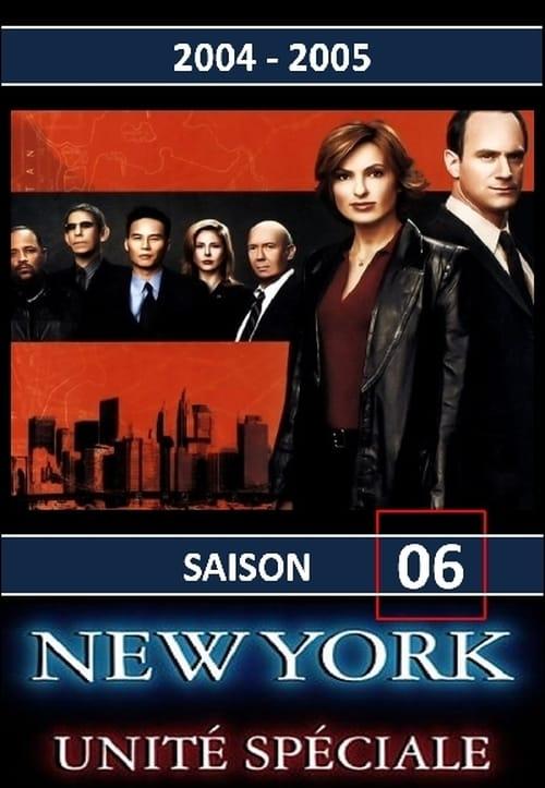 New York Unité Spéciale: Saison 6