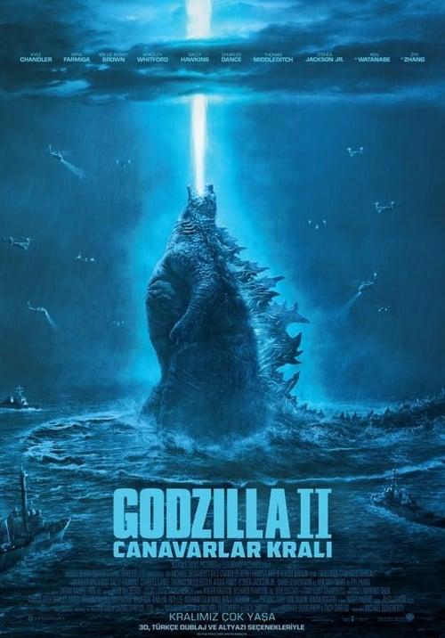 Godzilla: King of the Monsters ( Godzilla II: Canavarlar Kralı )