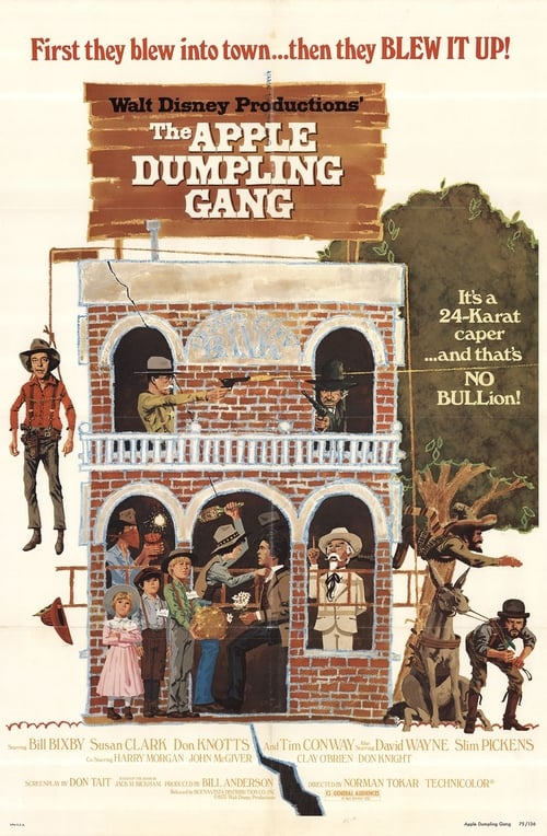 Download The Apple Dumpling Gang (1975) Best Quality Movie