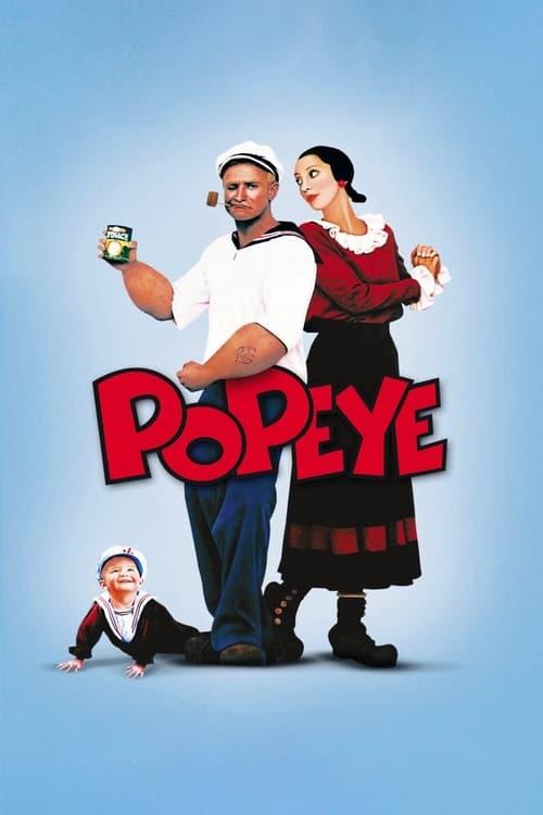 Popeye (1980) Poster