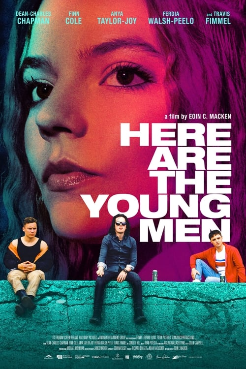 Here Are the Young Men (2021) Poster