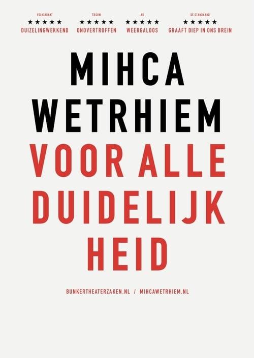 Micha Wertheim: Voor Alle Duidelijkheid