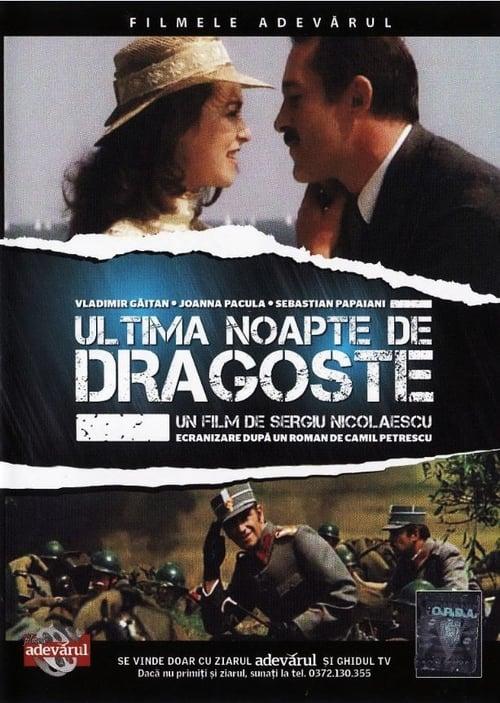 Película Ultima noapte de dragoste Con Subtítulos En Línea