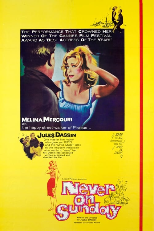 Streaming Never on Sunday (1960) Best Quality Movie