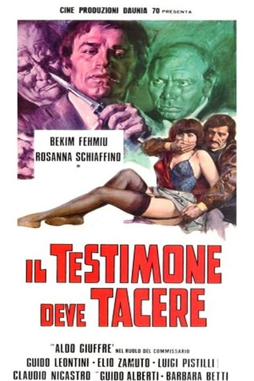 شاهد الفيلم Il testimone deve tacere في نوعية جيدة