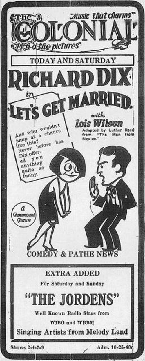 Let's Get Married (1926)