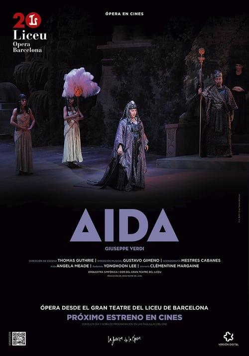 Aida - Gran Teatre del Liceu de Barcelona