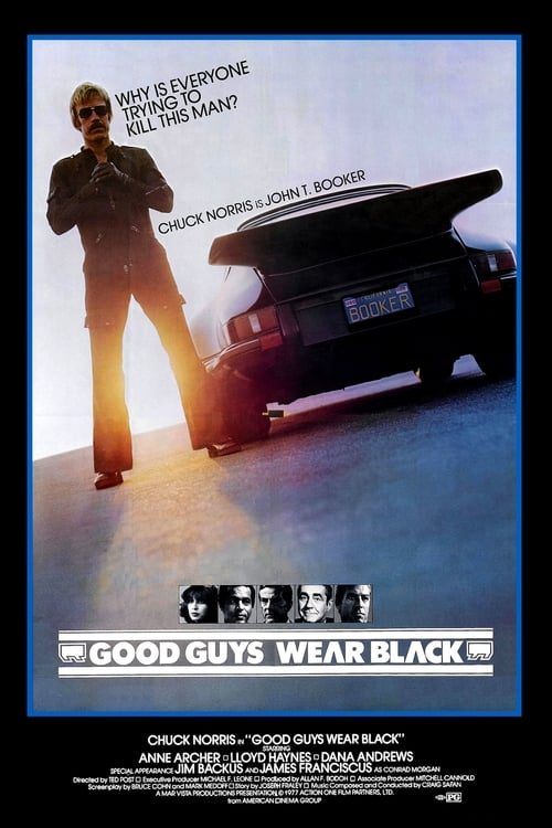Largescale poster for Good Guys Wear Black