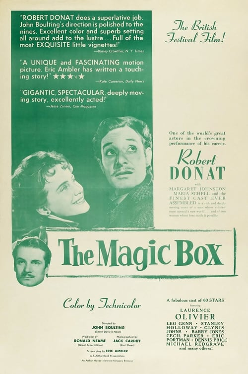 Mira La Película The Magic Box Gratis En Español
