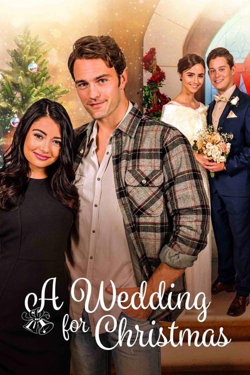 A Wedding for Christmas (2018) Poster