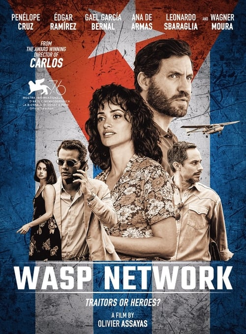 Download Wasp Network (2020) Movie Free Online