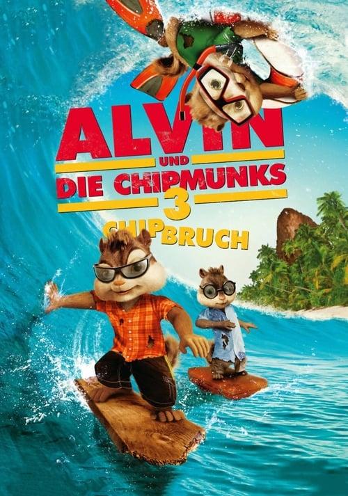 Alvin und die Chipmunks 3 - Chipbruch - Komödie / 2011 / ab 0 Jahre