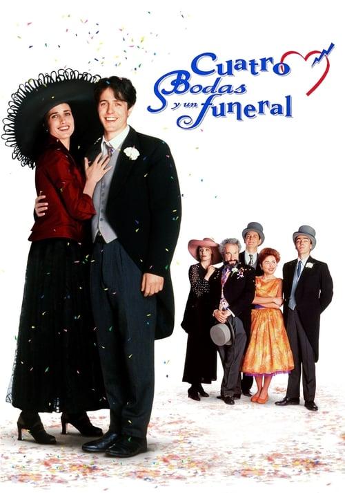 Mira La Película Cuatro bodas y un funeral Gratis