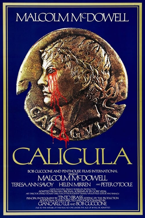 The poster of Caligula