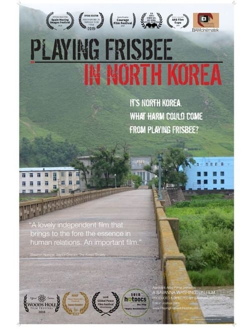 Playing Frisbee in North Korea