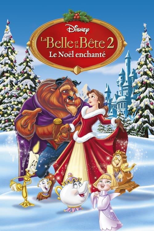 ✿ La Belle et la Bête 2 : Le Noël enchanté (1997) ©