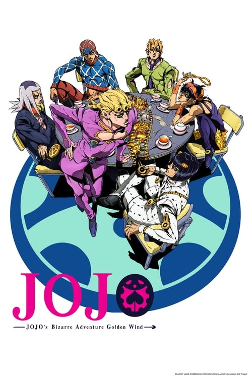 Jojo X27 S Bizarre Adventure: Golden Wind