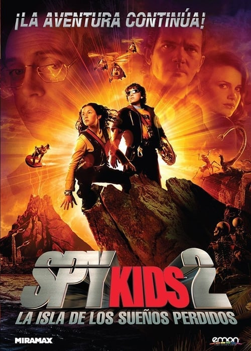 Spy Kids 2: The Island of Lost Dreams pelicula completa