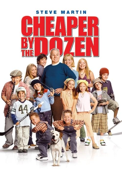 Cheaper by the Dozen film en streaming