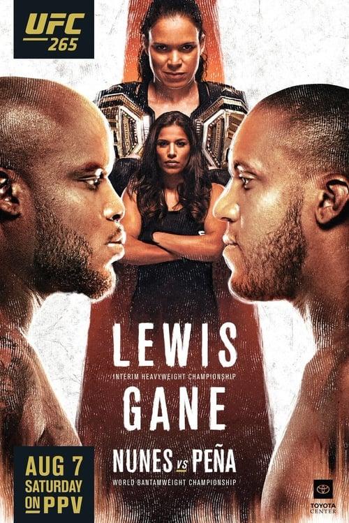 UFC 265: Lewis vs. Gane