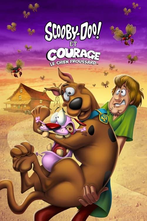 Les Sous-titres Scooby-Doo et Courage, le chien froussard (2021) dans Français Téléchargement Gratuit