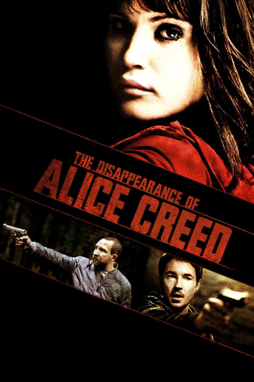 Poster for the movie, 'The Disappearance of Alice Creed'