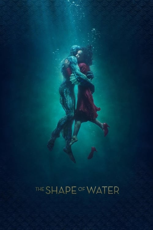 Poster. The Shape of Water (2017)