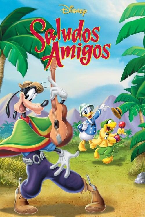 [1080p] Saludos Amigos (1942) streaming Disney+ HD
