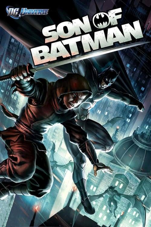Son of Batman poster